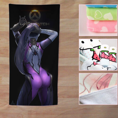 Widowmaker Overwatch Game Badetuch Handtuch Duschtuch Sauna Bath Towel