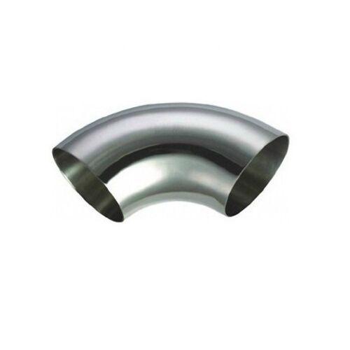 304 Acero Inoxidable 90 grados OD28mm×1.5mm sanitarias Soldadura Codo Montaje Tubo De Escape