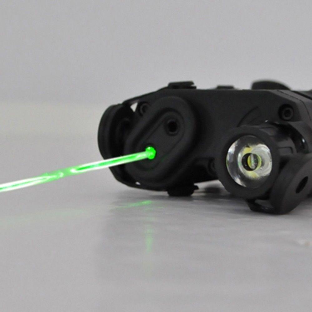 PEQ-15 Green Dot Laser LED Flashlight and IR illuminator Lights Camping & Hiking