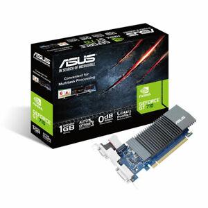 ASUS GeForce GT 710 Silent CAD Grafikkarte (Nvidia 1GB GDDR5)