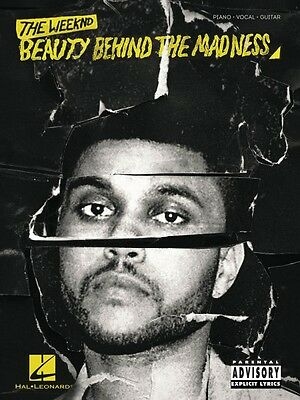 The Weeknd Beauty Behind the Madness Sheet Music Piano Vocal Guitar 000152158
