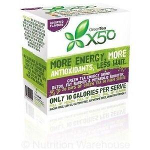Green Tea X50 60 Serves Weight Loss Detox Energy Tribeca Antioxidant X 50 Assorted
