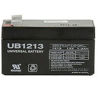 Upg 12v 1.3ah Sla Replacement Battery For Csb/prism on sale