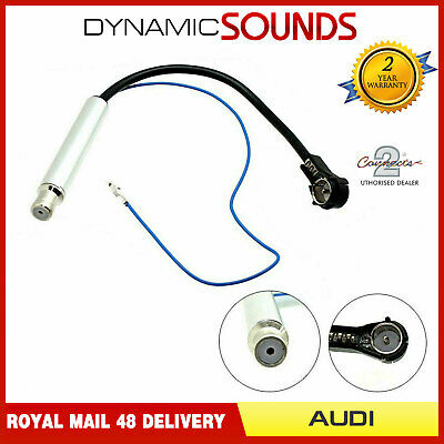Autoleads PC5-90 Car Audio Aerial Adaptor Lead for Signal Separation ISO to DIN