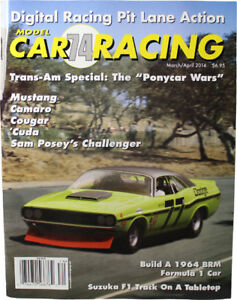 Model Car Racing Magazine Issue #74 Edition March April 2014