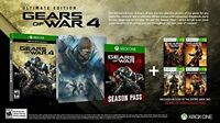 Gears Of War 4 - Outsider Variant, Collector's Edition Video Games Xbox One on sale