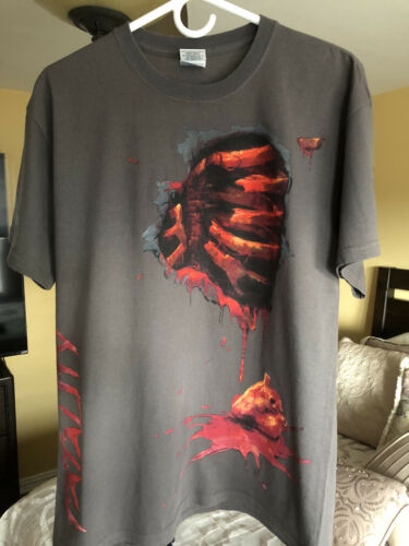 Mortal Kombat 9 - 2011 Official WB Promo Shirt