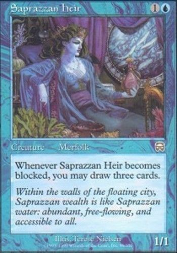 1x Saprazzan Heir - SP MTG Mercadian Masques