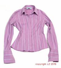 L212/15 Hawes & Curtis City Fitted Pins Cuff Fuchsia Elegant Sexy Shirt,UK 10,38