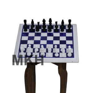 Incredible Details About Italian Marble Top Chess Game Set Inlay Stone Pieces Coffee Table Side Tables Gmtry Best Dining Table And Chair Ideas Images Gmtryco