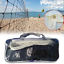 Outdoor-Volleyball-Net-Professional-Sport-Heavy-Duty-Set-With-Bag-Beach-Games thumbnail 1