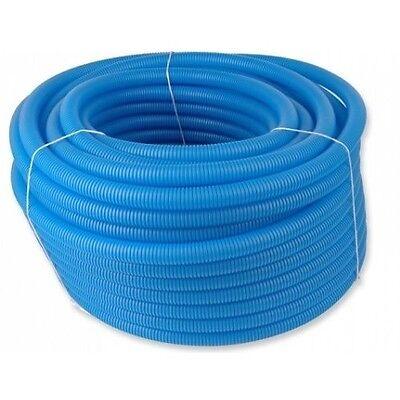Wellrohr Leerrohr 18mm 23mm -  flexibel 50m blau,rot für Alu-Verbundrohr 16/20mm
