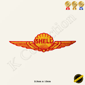 Shell Wing Embroidered Iron on /Sew On Patch/Badge For Clothes