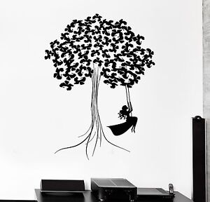 Details about Wall Decal Beautiful Decor Tree Teen Girl Wood Art Room Vinyl  Stickers (ig2797)