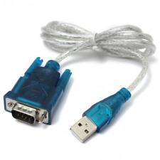 USB traslucido a 9 adattatore di cavo di convertitore di spillo seriale rs232