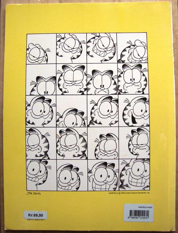 SOLGT - Garfield 14: Garfield rabler videre, Jim Davis,