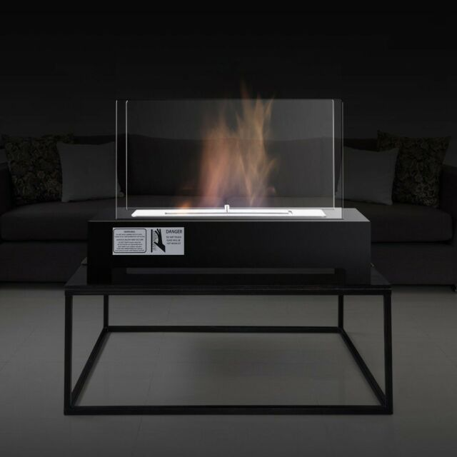 Fireplace Tabletop Ventless Bio Ethanol Portable Fire Pit Burner