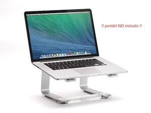 Griffin-Elevador-soporte-de-escritorio-para-Laptops-color-plateado