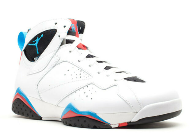 wholesale dealer 97e30 eed75 Air Jordan 7 VII Retro Orion Mens 304775-105 White Blue Infrared Shoes Size  11