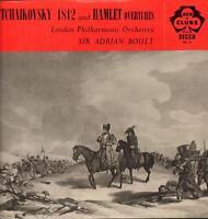 Tchaikovsky(Vinyl LP)1812 & Hamlet Overtures Adrian Boult-Decca-ACL 10-VG/Ex