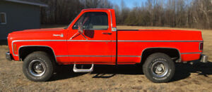 1979 Chevrolet Cheyenne Short Box 4x4