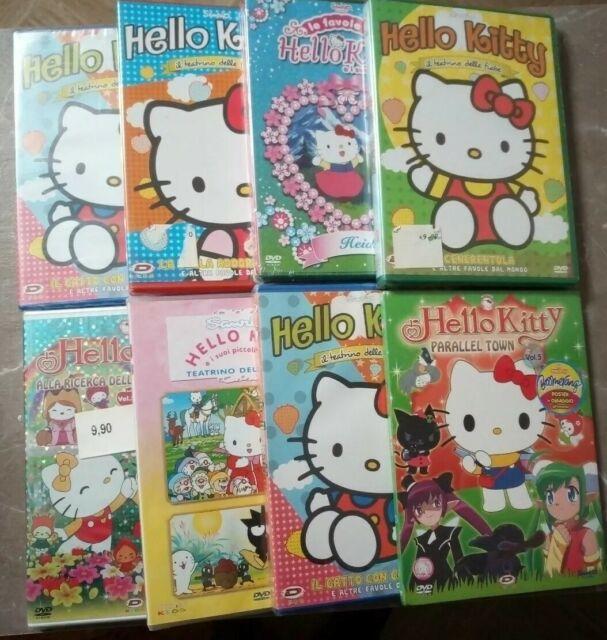 Super lotto 6 DVD Nuovi Sigillati Hello Kitty - dinit.it