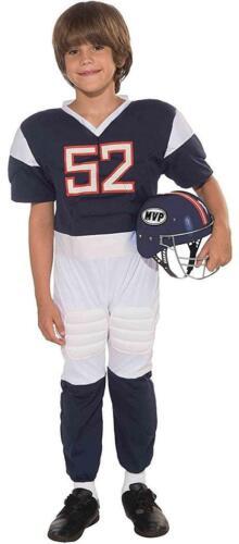 Football Player Athlete Sports Star Fancy Dress Up Halloween Child Costume