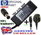 ORIGINAL HP 90W SMART PIN ORIGINAL CHARGER AC ADAPTER 391173-001 & POWER CABLE