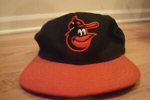 96ad186db8e VTG Baltimore Orioles New Era hat cap 7 3 8 retro 90s 80s 70s Wool ...