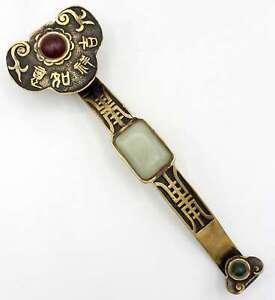 Ruyi-Cetro-Bronce-24cm-Amuleto-de-la-Suerte-Caracter-China-asienlifestyle
