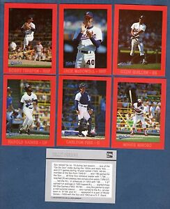 1988-CHICAGO-WHITE-SOX-30-card-Team-Set-Coke-Coca-Cola-FISK-MINOSO-McDOWELL