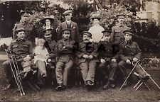 WW1 wounded Soldier group & family members ? Canadian CEF Royal Scots Fusiliers