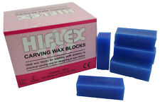 Blue Carving Wax Blocks, 200g Jewellers or Dental Lab Supplies