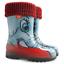 WELLIES-KIDS-RAIN-WELLINGTON-Rainy-Snow-Boots-Shoes-Socks-Children-Baby-Boy-Girl miniatuur 12