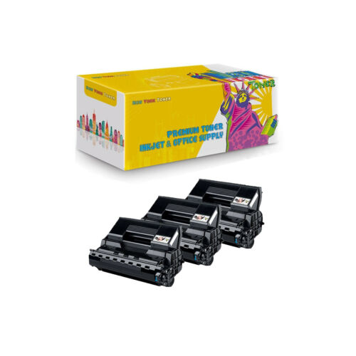 Black Compatible 3Pack A0FN012 HY Toner Cartridge for QMS 4650 PagePro 4650