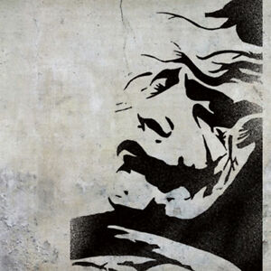 The joker stencil art craft painting home d cor wall ideal for Arts and crafts stencils craftsman
