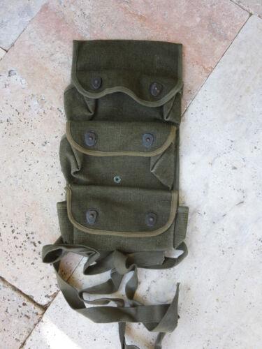 Original Grenade Carrier 3-Pocket Handgranatentasche 1945 Indochina Legion WWII