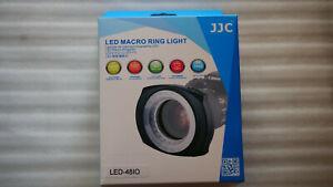 JJC LED Macro Ring Light led-48io - 12 mesi garanzia