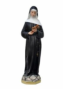 Saint-Rita-of-Cascia-resin-statue-cm-60-handmade-in-Italy