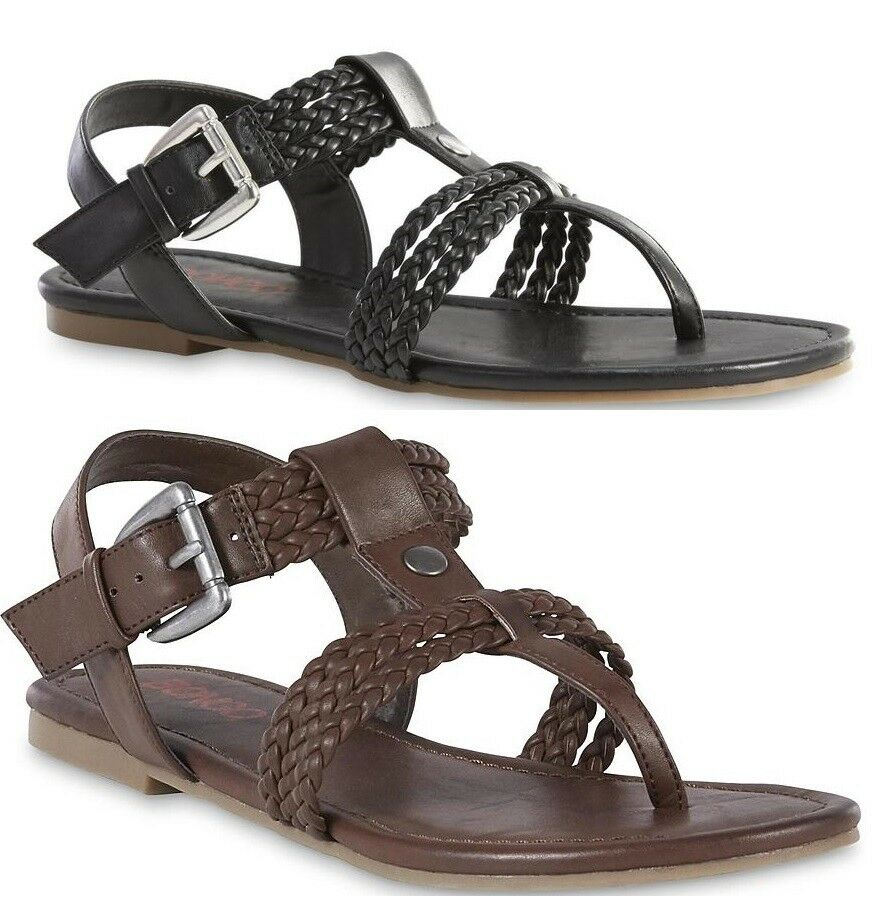 Bongo Sandal Womens Shannon T-Strap Sandal Bongo size 6 10 NEW 5d224a