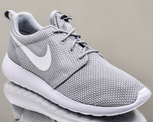 b384043763fb Image is loading Nike-Roshe-One-men-lifestyle-sneakers-rosherun-grey-