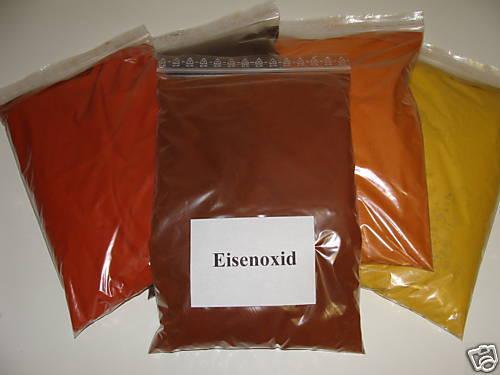 (EUR 2,80/kg) 20 Kg Eisenoxid braun Farbpigmente für Beton + Wand, Fe2O3