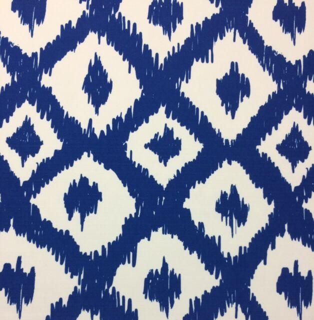 Lee Jofa Lilly Pulitzer Wave Ii Beach Blue Ikat Outdoor Fabric 2 5 Yard 54