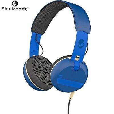 Skullcandy S5GRHT-454 BLUE Ill Famed Collection Grind Headphones w/Mic Brand New