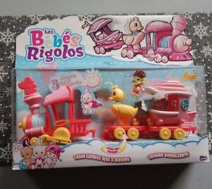 Les Bébés Rigolos Train Express Bébé a Rebonds joue club Neuf