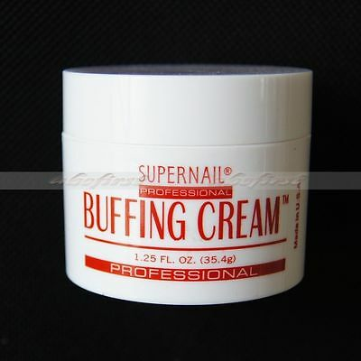 Newest Acrylic UV Gel Nail Art Buffing Cream Polish Care Primer Salon Craft Tool