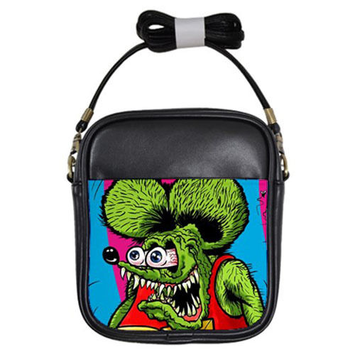 Hot New Rat Fink for Girls Sling Bag Free Shipping