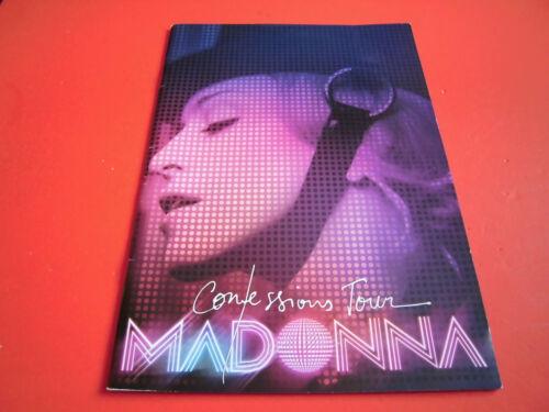 MADONNA Confessions Tour 2006 world Tour Program Concert Booklet Pamphlet