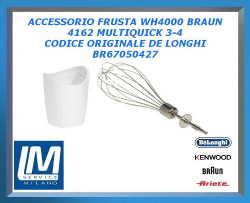 ACCESSORIO FRUSTA WH4000 PER BRAUN MODEL 4162 MULTIQUICK 3-4 BR67050427 ORIGINAL