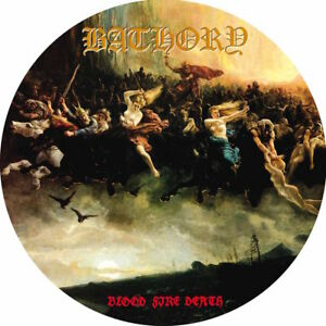 Bathory-BLOOD-FIRE-DEATH-4th-Album-LIMITED-EDITION-New-Vinyl-Picture-Disc-LP